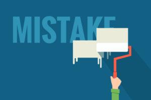 gestire errore errori emozioni